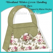 Woodland Wishes Green Handbag Gift Box