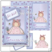 Get Well Folded Card