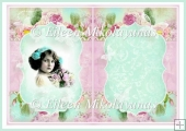 Winsome Child Vintage Roses Insert