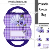 Pansy Shell Bag