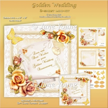 Wedding Anniversary - Golden Wedding
