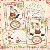 Holly Jolly Christmas - 2 Card Kit