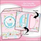 Hey Cupcake Stationery Box Set