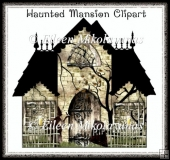 Haunted Mansion Clipart