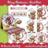 Merry Christmouse Easel Card