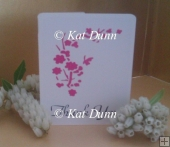 Cherry Blossom Wedding Collection - Thank You Card Cutting File