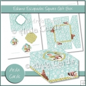 Eskimo Escapades Square Gift Box