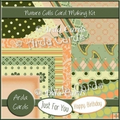 Nature Calls Card Making Kit