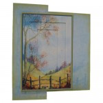 The Style 5x7 Rectangular Invertage Foldback Card Kit 1
