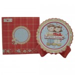 Together Forever Scalloped Plate Card Kit 3