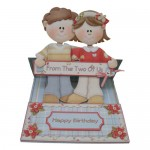 Dual Greetings Decoupage Shaped Easel Card Kit 1