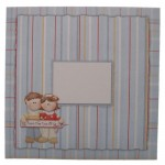 Dual Greetings Decoupage Shaped Easel Card Kit 2