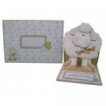 More Greetings 4 Ewe Decoupage Shaped Easel Card 3