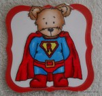Super Roger Coaster-drinks mat