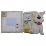 Puppy Love Decoupage Shaped Fold Card Kit 5