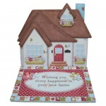 House & Home Decoupage Shaped Easel Card Kit 1