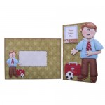 My Dad Decoupage Shaped Fold Card Kit 5