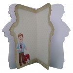 My Dad Decoupage Shaped Fold Card Kit 3
