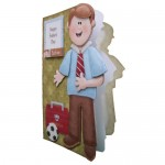 My Dad Decoupage Shaped Fold Card Kit 2