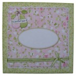 A Perfect Pair Decoupage Scalloped Plate Easel Card Kit 3