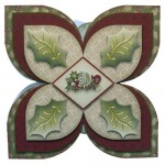 Spirit of the Season Quad Petal Shaped Fold Card Kit 1
