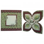 Spirit of the Season Quad Petal Shaped Fold Card Kit 6