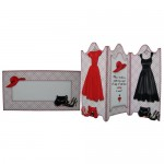 Fashion Dilemmas Screen Shaped Tri Fold Card Kit 3