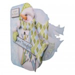 Warm Thoughts Snowman Shaped Fold Card Kit 2