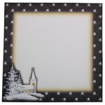 Chilly Church Season's Greetings Plate Card Kit 2