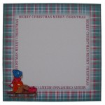 Nostalgic Christmas Plate Cards Twin Pack 2