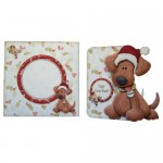 Yappy Christ-Woof! Shaped Fold Card Kit 5