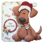 Yappy Christ-Woof! Shaped Fold Card Kit 1