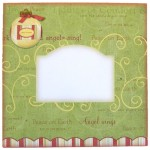 3D Bauble Round Topped Fold Card Kit 4
