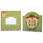 3D Bauble Round Topped Fold Card Kit 5