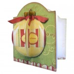 3D Bauble Round Topped Fold Card Kit 2