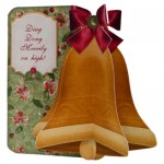 Christmas 3D Bell Shaped Card Kit 2
