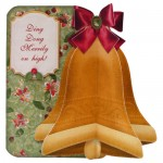 Christmas 3D Bell Shaped Card Kit 1