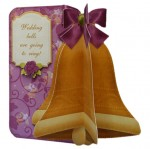 Wedding & Anniversary 3D Bell Shaped Card Kit 2