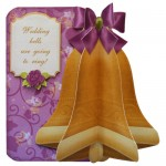 Wedding & Anniversary 3D Bell Shaped Card Kit 1
