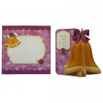 Wedding & Anniversary 3D Bell Shaped Card Kit 6