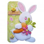 Hoppy Easter Shaped Fold Card - view 1