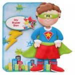 You Are Super Shaped Fold Card - view 1 - son version