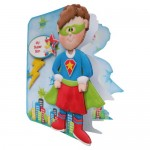 You Are Super Shaped Fold Card - view 2 - son version