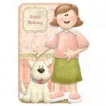 Perfect Companions Shaped Fold Card - card style 2