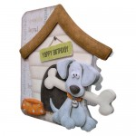 Playful Pup Shaped Fold Card - base 1 - view 2