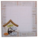 Playful Pup Shaped Fold Card - envelope