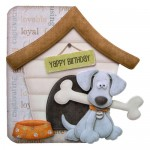 Playful Pup Shaped Fold Card - base 1 - view 1