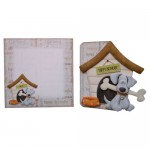 Playful Pup Shaped Fold Card - finished set using base 1