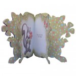 Scent-imental Greetings Shaped Fold Card - inside view