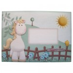 If Wishes Were Horses Shaped Fold Card - envelope front